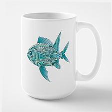 Robot Fish Mug