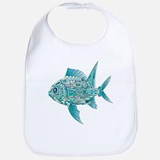 Robot Fish Bib