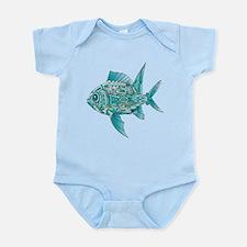 Robot Fish Infant Bodysuit