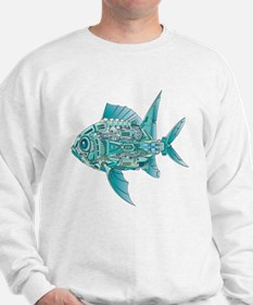 Robot Fish Sweatshirt