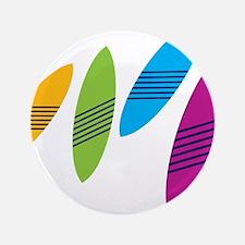 """Rainbow Surfboards 3.5"""" Button"""