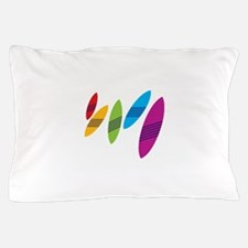 Rainbow Surfboards Pillow Case