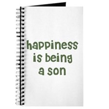 Happiness is being a Son Journal
