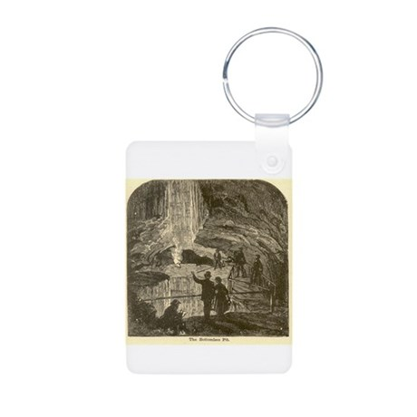 mammoth cave Aluminum Photo Keychain