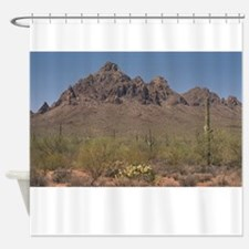 IRONWOOD FOREST. Shower Curtain