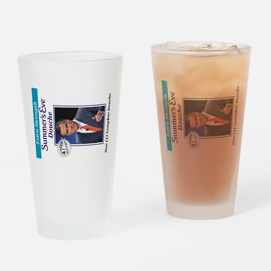 Mitt Douche Drinking Glass