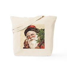 Vintage Santa Claus Tote Bag