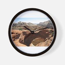 capitol reef Wall Clock