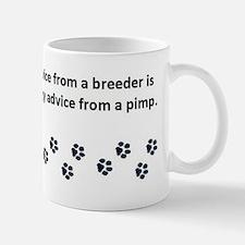 Getting Veterinary Advice Small Mugs