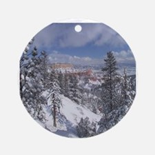 bryce canyon Ornament (Round)