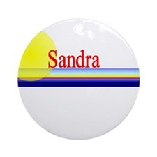 Sandra Ornament (Round)
