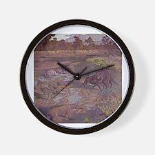 badlands Wall Clock