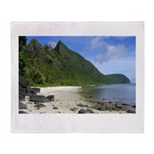 american samoa Throw Blanket