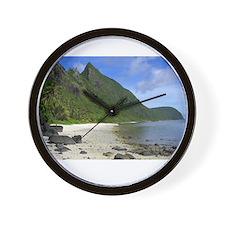 american samoa Wall Clock
