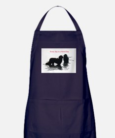 Every day is a Newf Day Apron (dark)