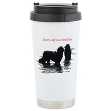 Every day is a Newf Day Travel Mug