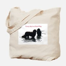 Every day is a Newf Day Tote Bag