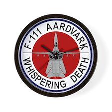 F-111 Aardvark Wall Clock