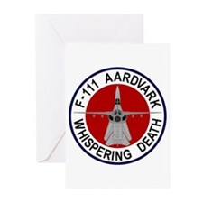 F-111 Aardvark Greeting Cards (Pk of 20)