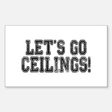 Ceiling Fan Costume Decal