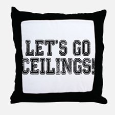 Ceiling Fan Costume Throw Pillow