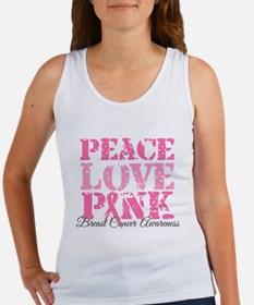 Peace Love Pink - Breast Cancer Awareness Women's