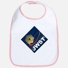 James Webb ESA Logo Cotton Baby Bib