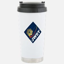 James Webb ESA Logo Stainless Steel Travel Mug