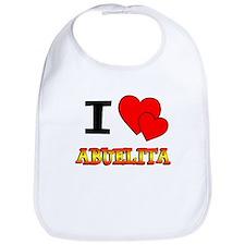 I Love Abuelita Bib