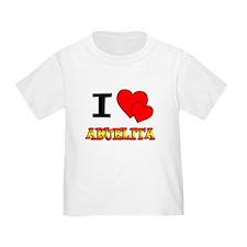 I Love Abuelita T