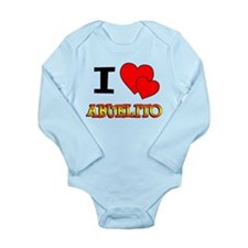 I Love Abuelito Long Sleeve Infant Bodysuit
