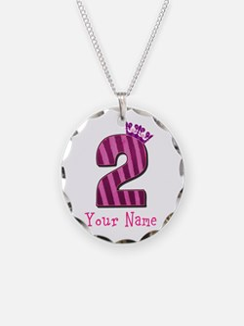 Custom 2nd Birthday Necklace