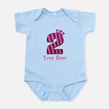 Custom 2nd Birthday Infant Bodysuit