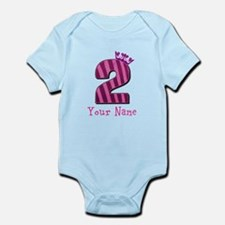 Custom 2nd Birthday Onesie