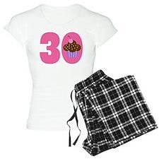 30th Birthday Cupcake Pajamas