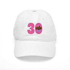 30th Birthday Cupcake Baseball Cap