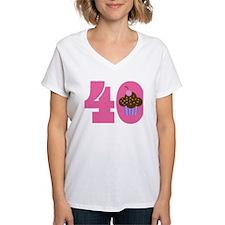 40th Birthday Cupcake Shirt