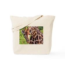 rothschild giraffe looking kenya collection Tote B