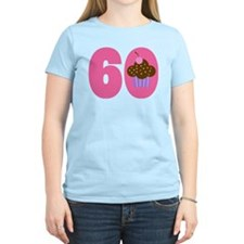 60th Birthday Cupcake T-Shirt