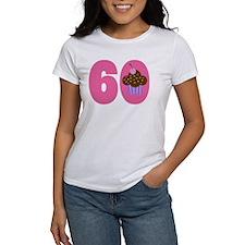 60th Birthday Cupcake Tee