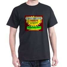 Chocolate Is A Vegetable/t-shirt T-Shirt