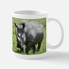 white rhino mother at nakuru kenya collection Mug
