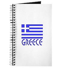 Greece Flag Name Journal