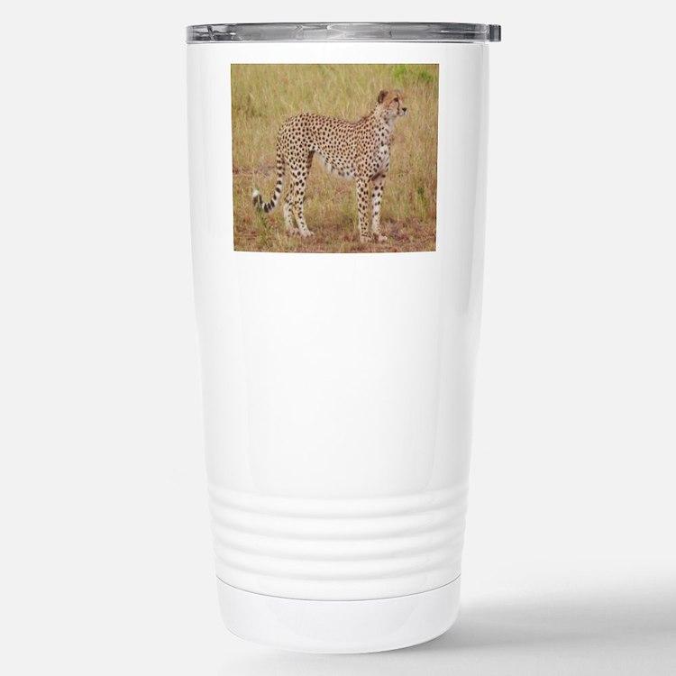 cheetah brother kenya collection Travel Mug