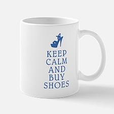 KEEP CALM SHOES BLUE.png Mug