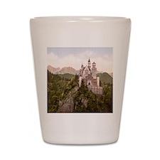Vintage Neuschwanstein Castle Shot Glass