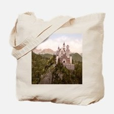 Vintage Neuschwanstein Castle Tote Bag