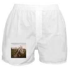 Vintage Neuschwanstein Castle Boxer Shorts