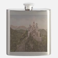 Vintage Neuschwanstein Castle Flask