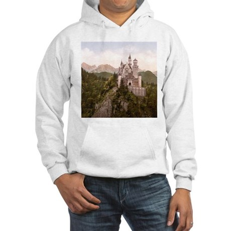 Vintage Neuschwanstein Castle Hooded Sweatshirt